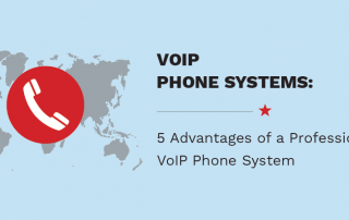 5 advantages of VOIP phone systems header image